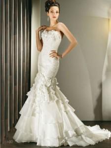 Robe de mariee pour femme grande et mince