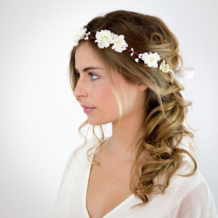 accessoires de robe robe de mari/ée blanche bandeau de fleurs de mari/ée bijoux de mari/ée Bandeau de bijoux de mariage